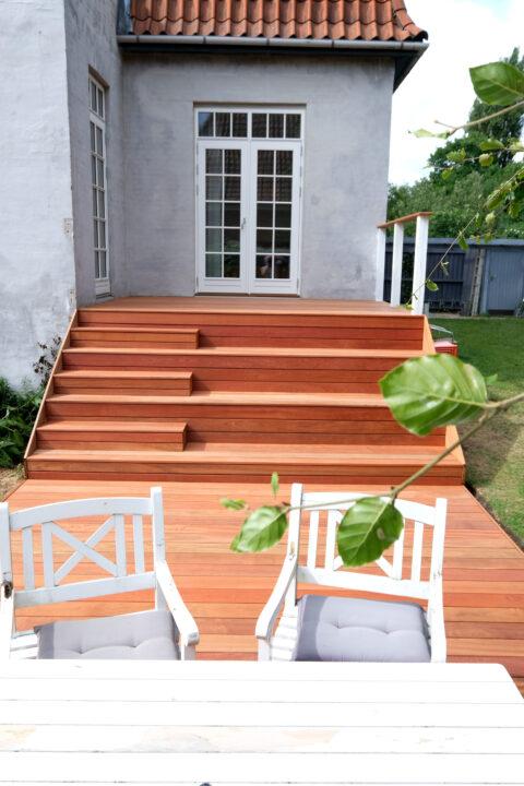 : Ny terrasse i Vanløse