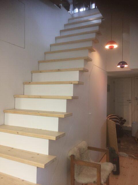 : Ny trappe til husbåd i Sydhavnen