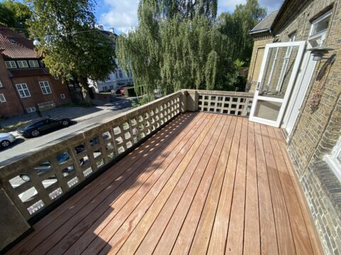 : Ny terrasse på Frederiksberg
