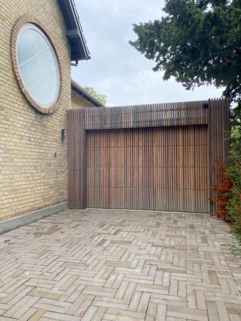: Ny garage i Hellerup
